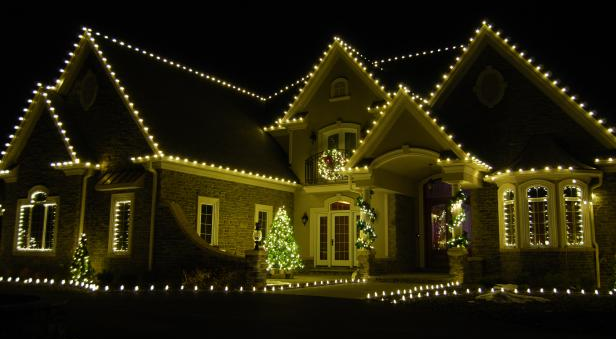 Holiday Lighting Decorating